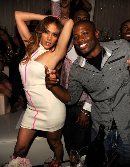 Jennifer Lopez got down at Pure Nightclub in Vegas after performing at the iHeartRadio music festival on Sept. 25.