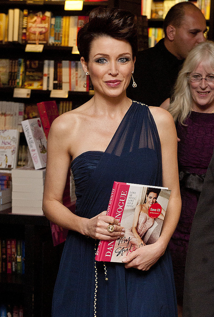 Dannii Minogue signs copies of her book Dannii: My Story at Waterstone's Bluewater in Greenhithe, England on Sept. 29.