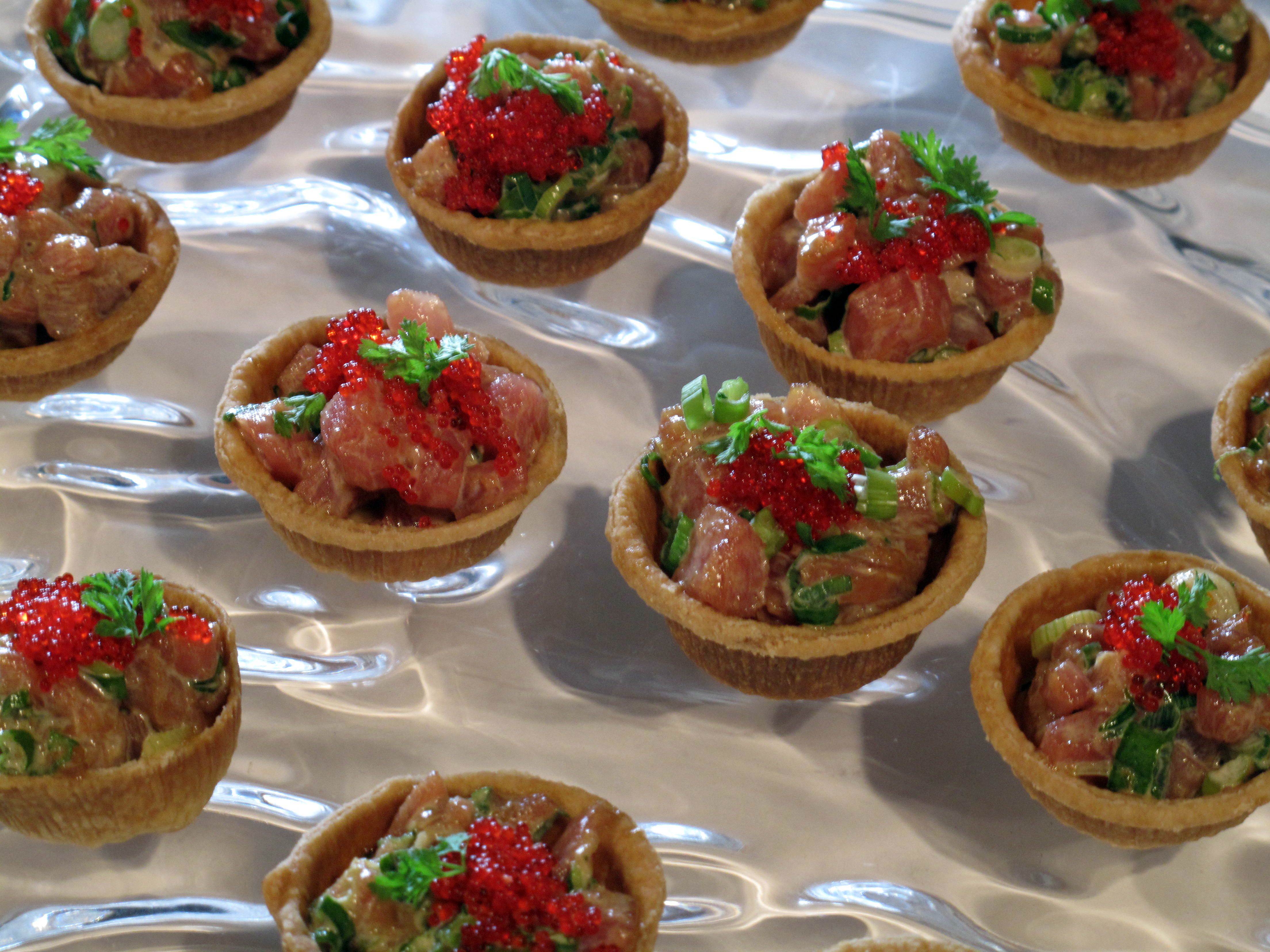 Tuna Tartare Tartlet