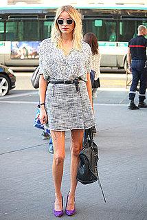 Spring 2012 Paris Fashion Week Street Style: Day 6