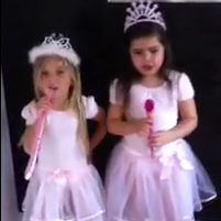 "Video of Little Girls Rapping Nicki Minaj's ""Super Bass"""
