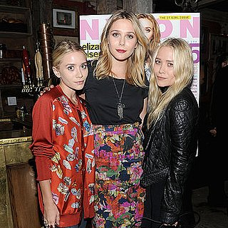 Mary-Kate and Ashley Olsen Support Their Sister Elizabeth at a Bash in NYC