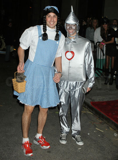 Dorothy and the Tin Man