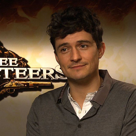 Orlando Bloom on The Three Musketeers