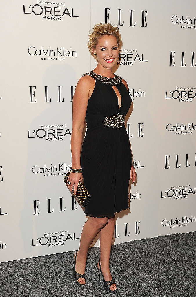 Katherine Heigl attended Elle's Women in Hollywood Tribute.