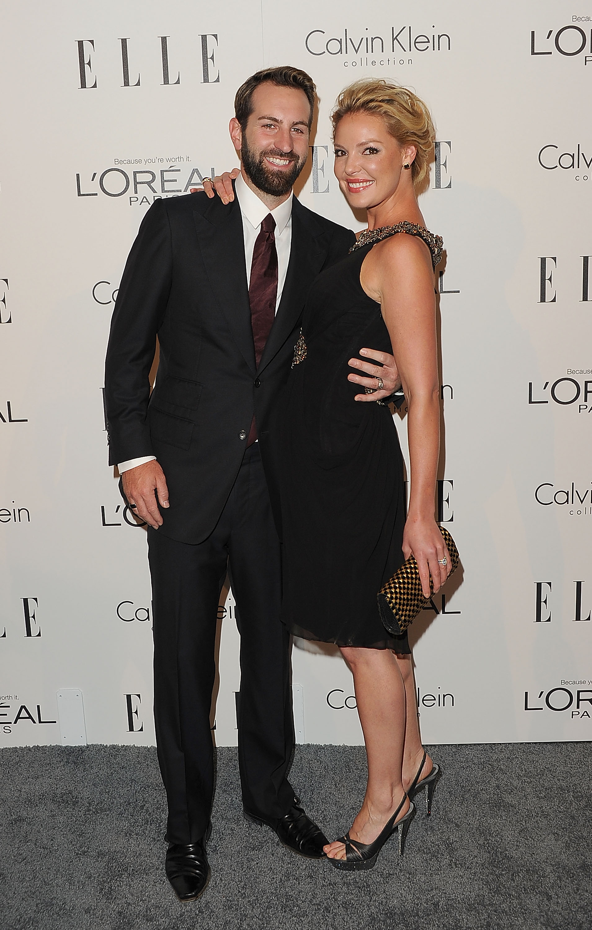 Josh Kelly and Katherine Heigl were a happy couple in LA.
