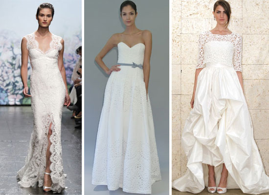 Pictures of the best designer wedding dresses from 2012 for Best vera wang wedding dresses