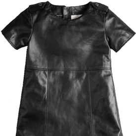 Burberry Leather Dress For Girls