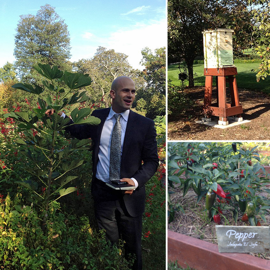 Sam Kass Takes Us on a Tour of the White House Gardens