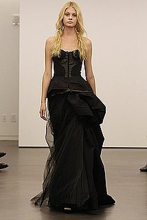 Vera Wang Black Wedding Dresses [Pictures]
