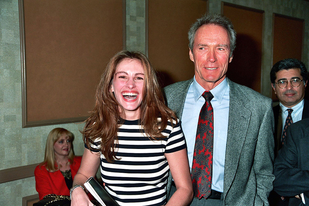 She was even able to crack up Clint Eastwood at the ShoWest convention in 1993.