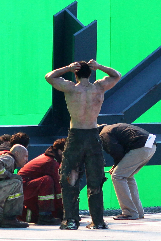 Henry Cavill Showed Off His Hard Earned Back Muscles A