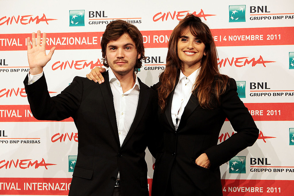 Emile Hirsch costars with Penelope Cruz in Venuto al Mondo.