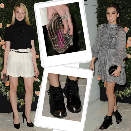 Battle of the Adorable Teenage Outfits: Elle vs. Hailee in Chanel