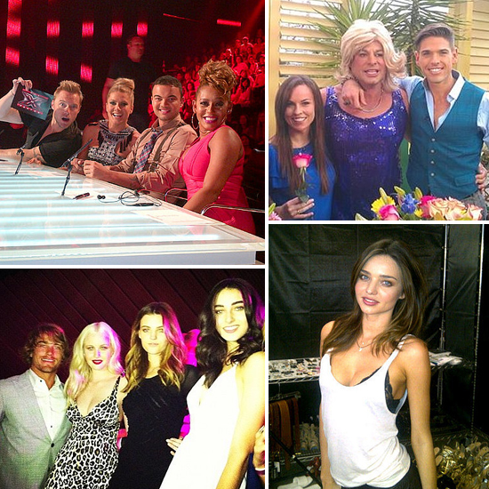 Fun and Funny Celebrity Twitter Pictures From The X Factor, Celebrity Apprentice Australia, Australia's Next Top Model