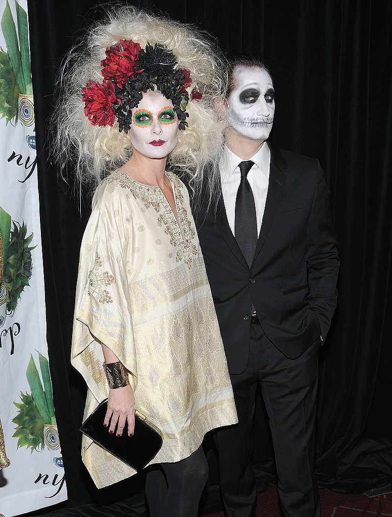 Debra Messing and her then-husband got ghoulish for an NYC party in 2011.