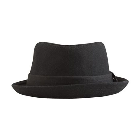 Channel the Rat Pack in this cool porkpie hat. Nixon Post Porkpie Fedora (approx $32)