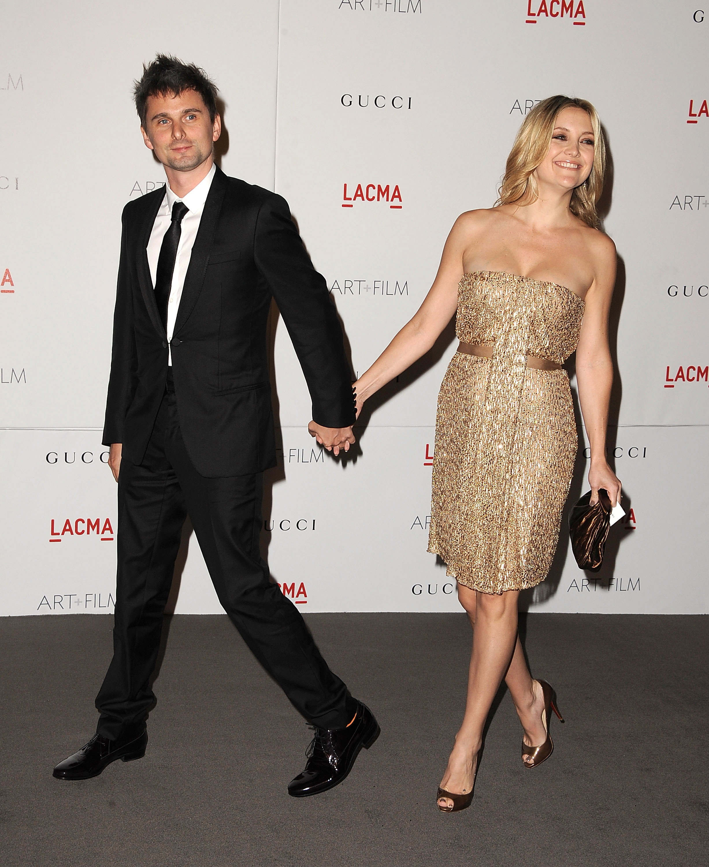 Kate Hudson and fiancé Matt Bellamy at a LACMA bash.