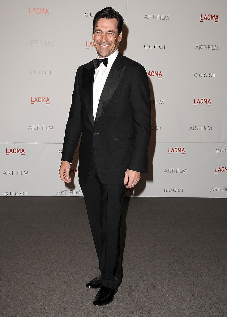 Jon Hamm at a LACMA bash.