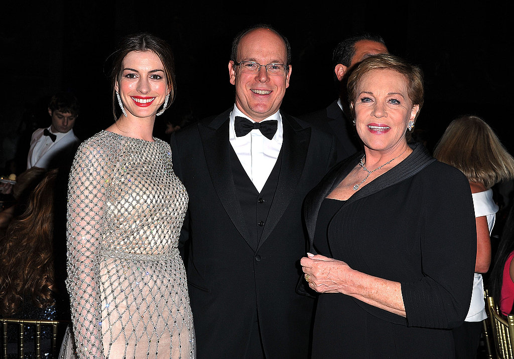 Princess Charlene, Prince Albert of Monaco With Anne Hathaway and Julie Andrews at Princess Grace Awards