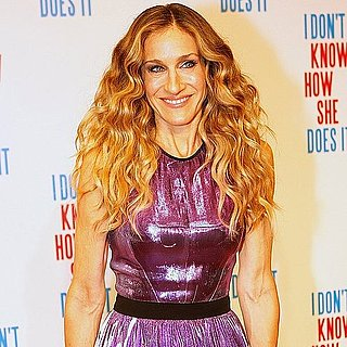Sarah Jessica Parker in Purple Prabal Gurung Dress