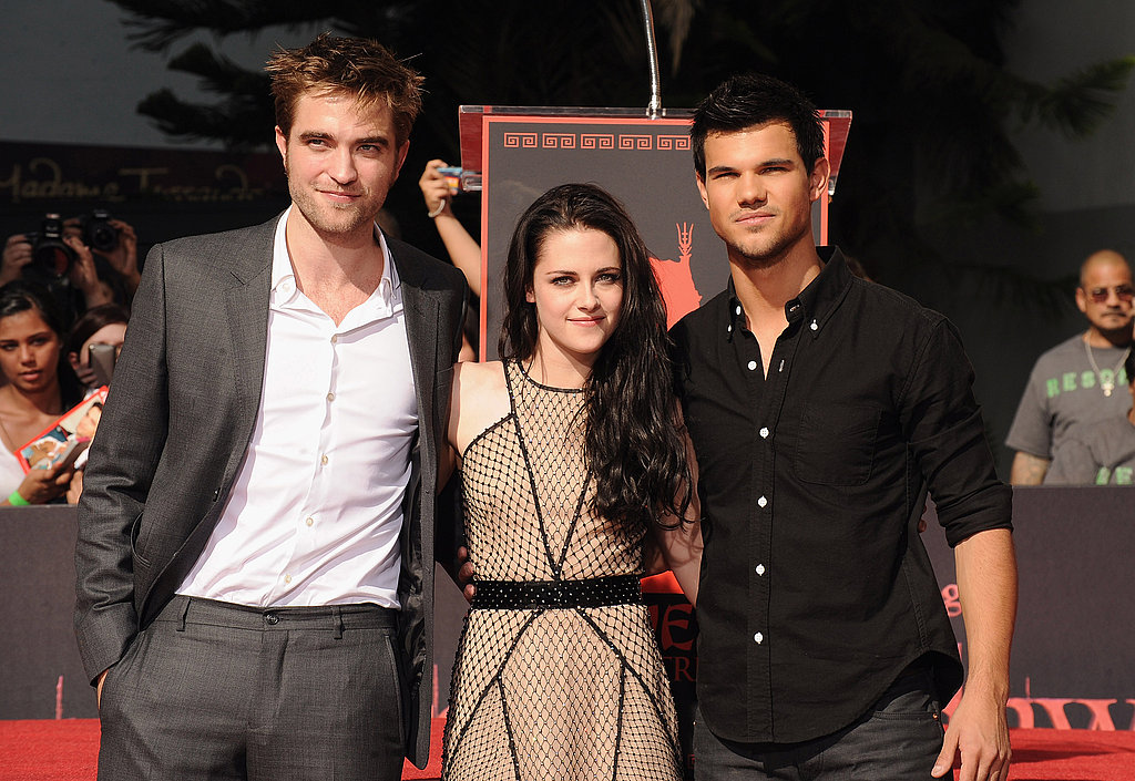 Kristen Stewart, Robert Pattinson and Taylor Lautner together in LA.