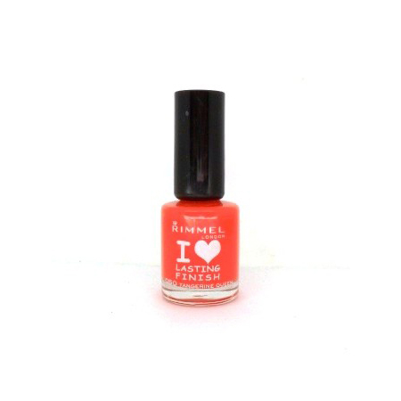 Rimmel I Love Lasting Finish Nail Colour in Tangerine Queen, $5.95