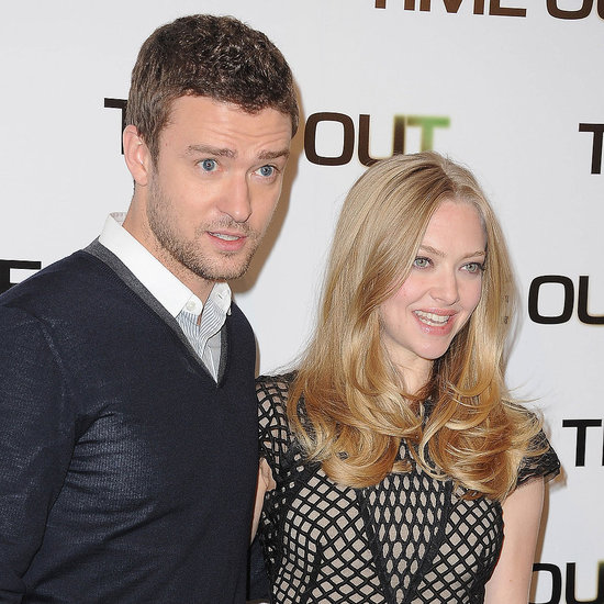 Justin Timberlake and Amanda Seyfried In Time Paris Pictures