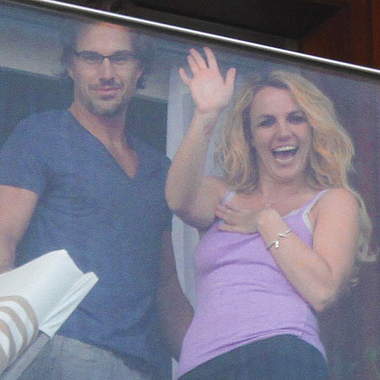 Britney Spears and Her Sons in Brazil Pictures