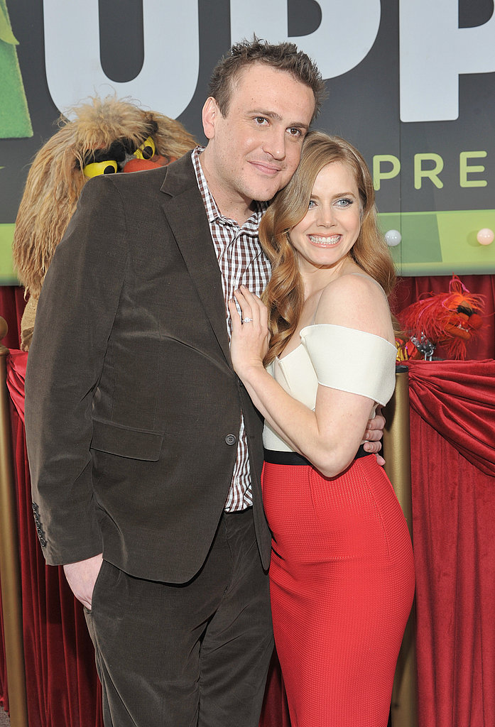 Amy and Jason costar in The Muppets.