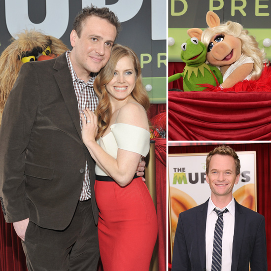 Jason and Amy Double Date With Kermit and Piggy For The Muppets Premiere!