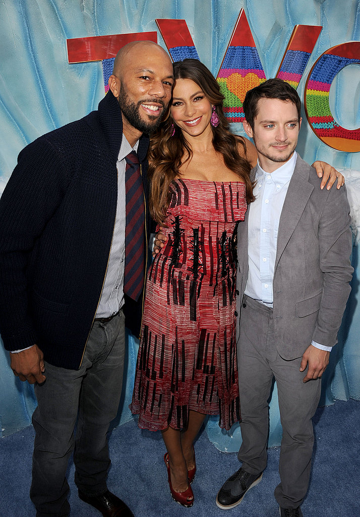 Common, Sofia Vergara and Elijah Wood