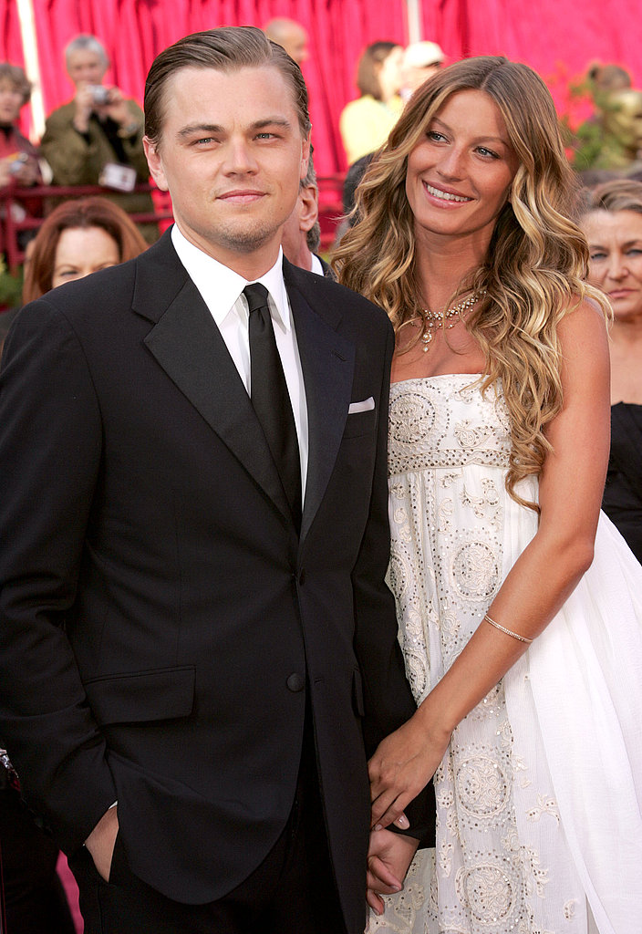 At the 2005 Academy Awards, Leonardo DiCaprio walked the red carpet with then-girlfriend Gisele Bündchen on his arm.