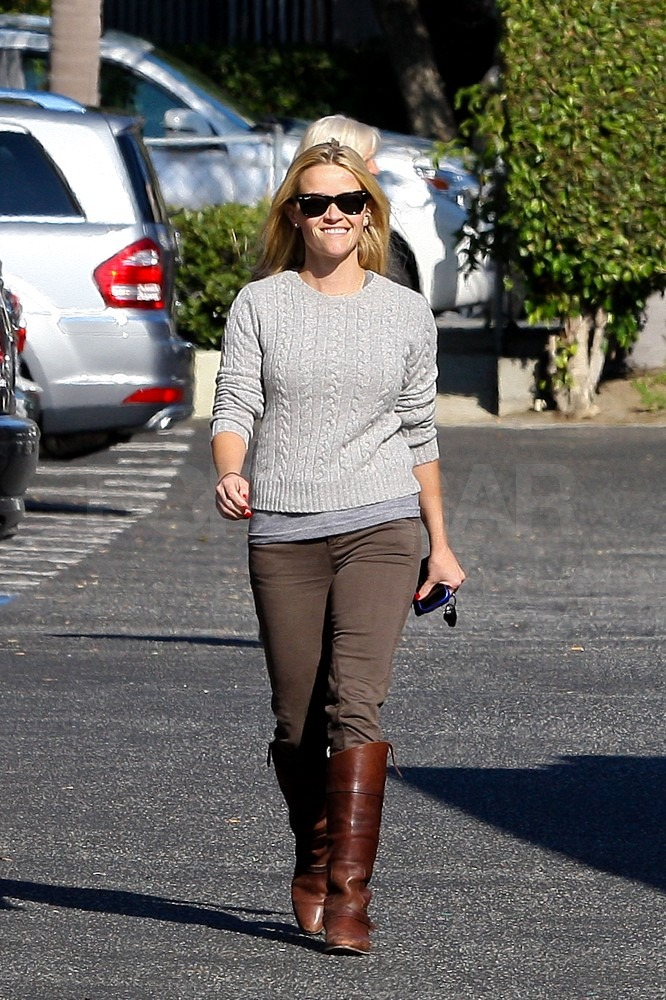 Reese Witherspoon was all smiles in LA.
