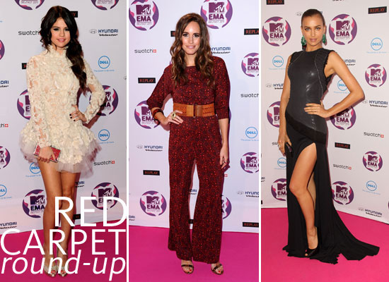 Pictures of the Red Carpet Celebrity Arrivals at the 2011 MTV Europe Music Awards Feat. Selena Gomez, Katy Perry & More!