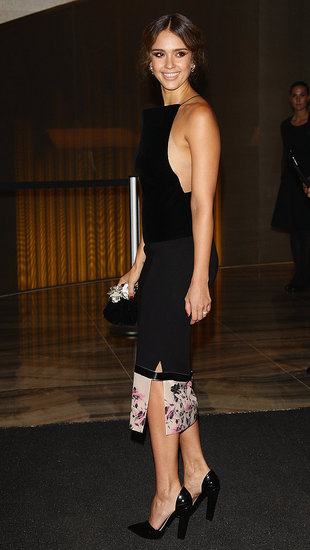 Jessica Alba at Armani Hotel Milan Opening Pictures