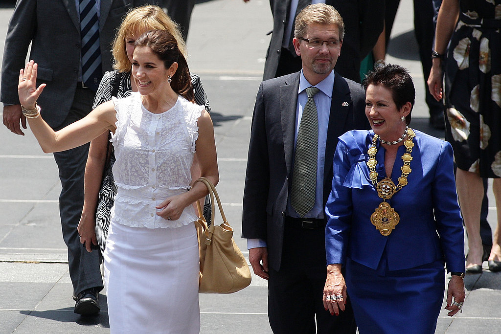 Princess Mary in Australia Day 1