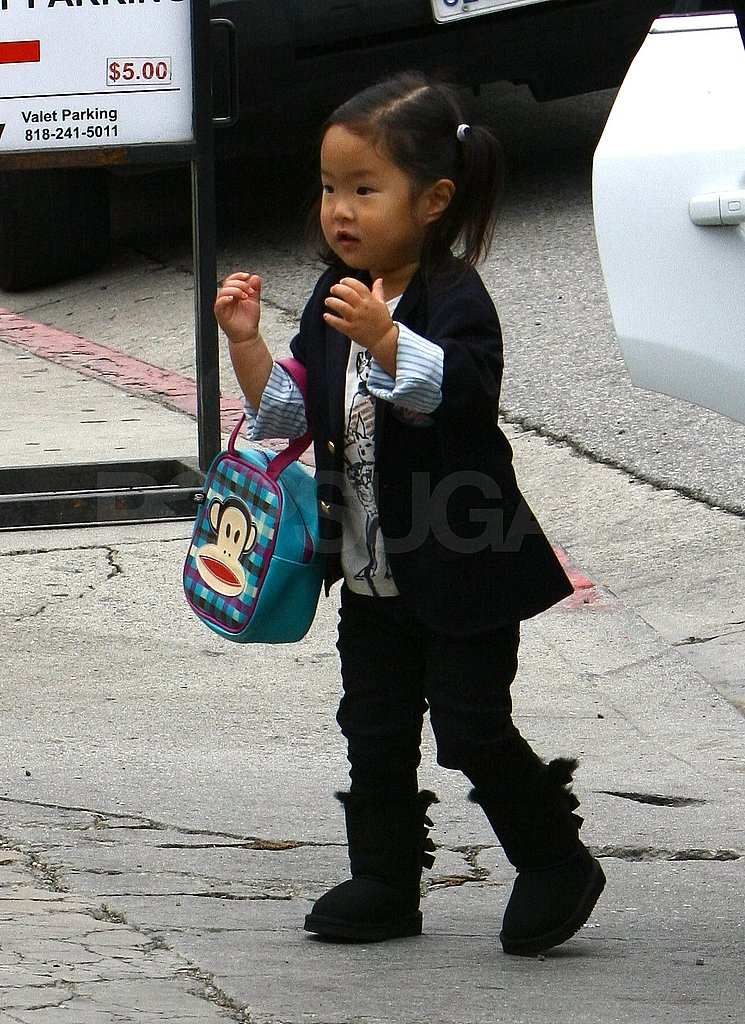 Naleigh carried her own purse.