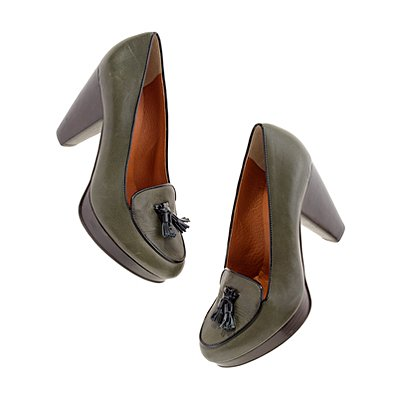 These hit that perfect style note between ladylike and fashion-forward.   Madewell Handbook Pump ($198)