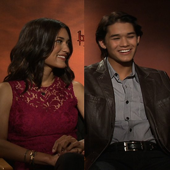 Julia Jones and Booboo Stewart Interview (Video)