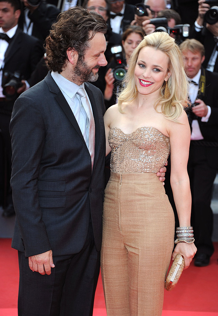 Rachel posed alongside then-new love Michael Sheen at the Cannes Film Festival premiere of Sleeping Beauty in 2011.