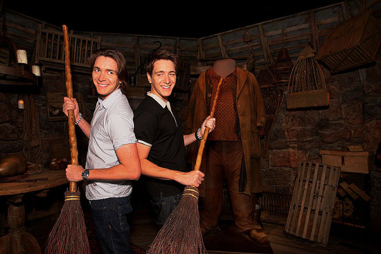 Harry Potter Actors James and Oliver Phelps Launch Sydney's Harry Potter: The Exhibition at Powerhouse Museum