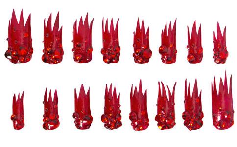 Lady Gaga's Holiday Press-On Nails