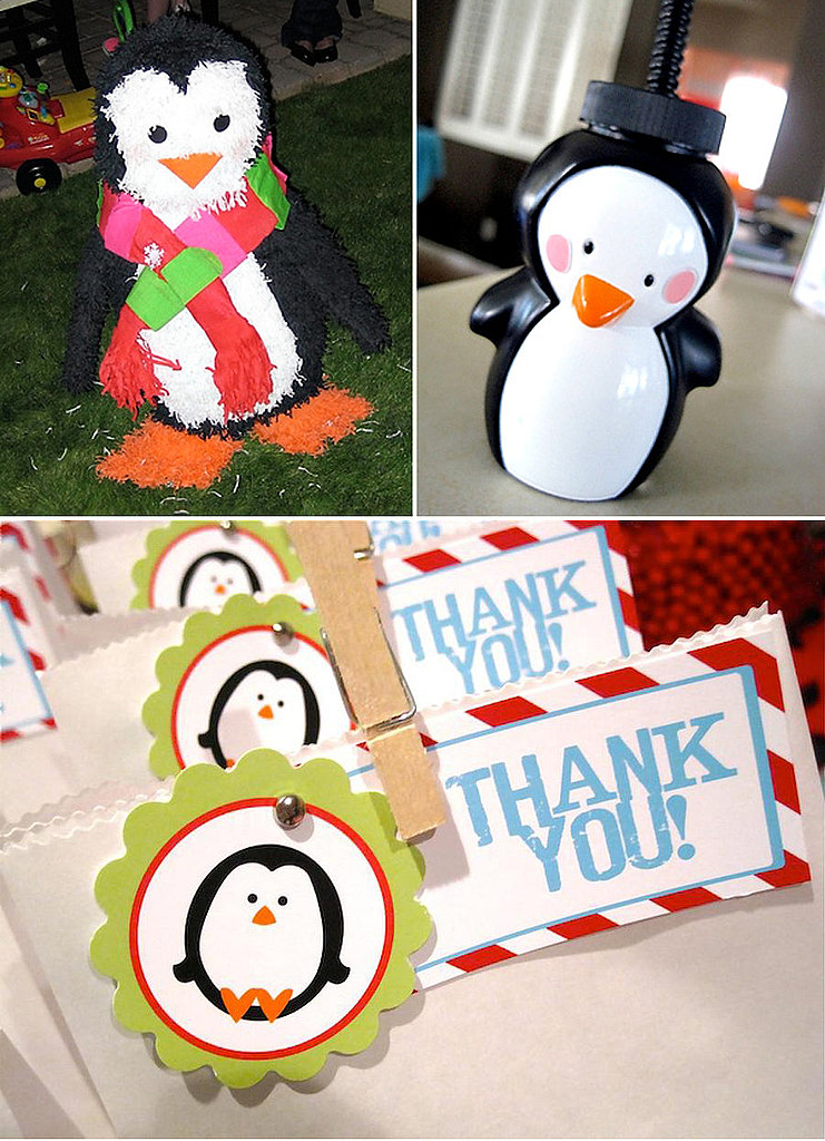 Winter Candy Land Party Favors