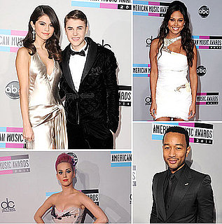 Pictures of the Celebrity Red Carpet Arrivals at the 2011 America Music Awards