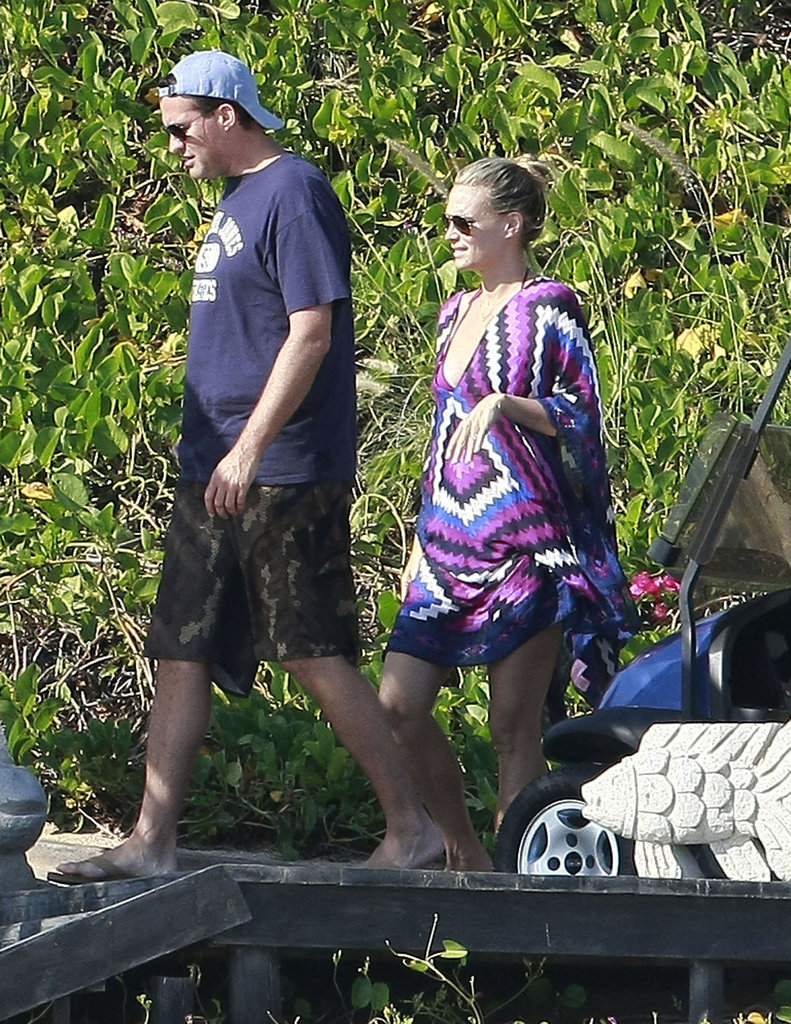 Molly Sims and Scott Stuber in Mexico for Thanksgiving.