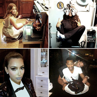 Pictures of Celebrities and Models on Twitter Nov. 29, 2011