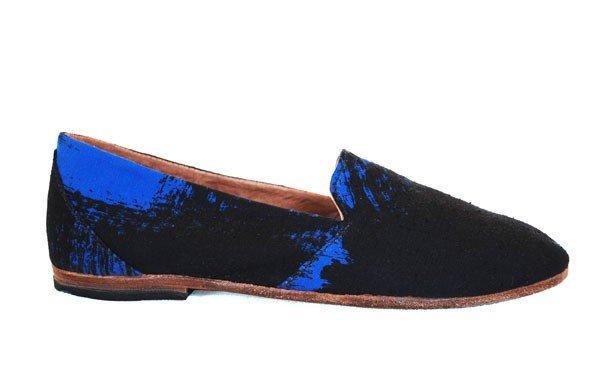 """We're kind of obsessed with these cool kicks — and the fact that each pair of Osborn's """"happily made"""" shoes are totally unique and handcrafted by artisans in Guatemala — sweat-shop free!  Osborn Electric Avenue Loafers ($143)"""