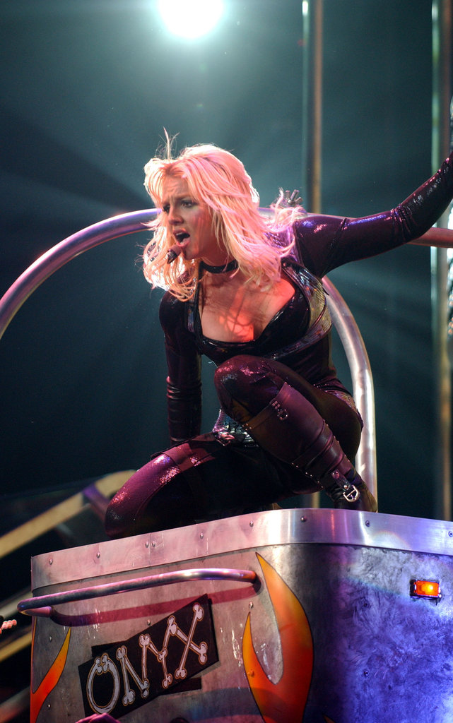 In March 2004, Britney Spears's act got even hotter.