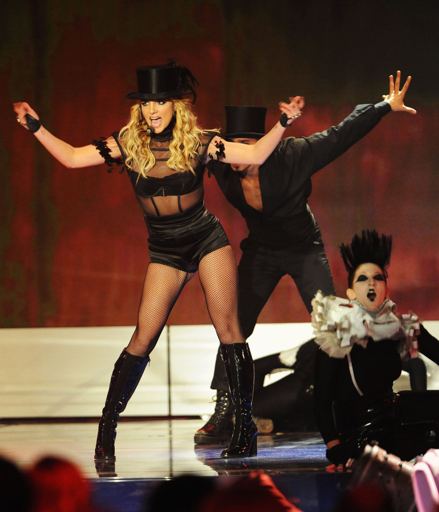 In November 2008, Britney wowed the crowd in Germany.